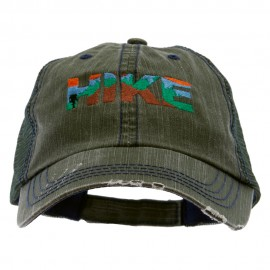 Mountain Hiking Embroidered Low Profile Special Cotton Mesh Cap