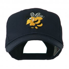 Flying Hornet Mascot Embroidered Cap