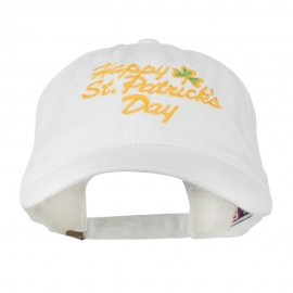 Happy St. Patrick's Day Embroidered Cap
