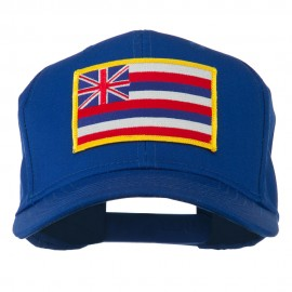 Hawaii State High Profile Patch Cap
