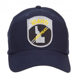 Idaho State Police Patched Cap - Navy