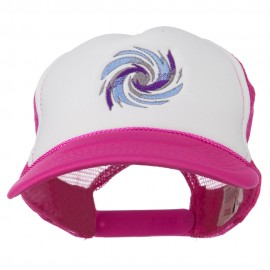 Hurricane Embroidered Foam Mesh Back Cap