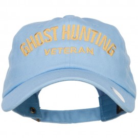 Ghost Hunting Veteran Embroidered Unstructured Cap
