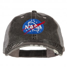 NASA Insignia Embroidered Low Cotton Mesh Cap