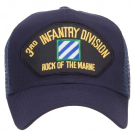 3rd Infantry Division Patched Mesh Cap