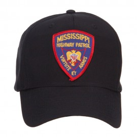 Mississippi State Highway Patrol Patched Cap - Black