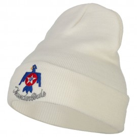 US Air Force Thunderbirds Embroidered Long Knitted Beanie