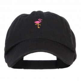 Mini Flamingo Embroidered Pet Spun Cap