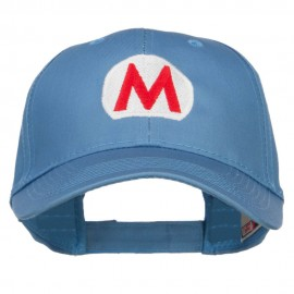 Ice Mario Luigi Embroidered Cap