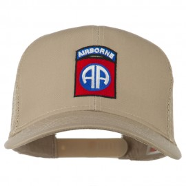 82nd Airborne Embroidered Mesh Cap
