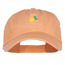 Mini Lemon Embroidered Low Cap