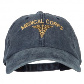 Medical Corps Embroidered Washed Buckled Cap