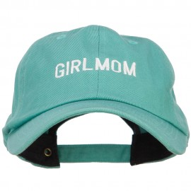 Girlmom Embroidered Unconstructed Cap