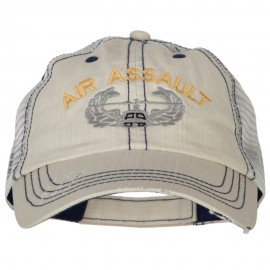 US Army Air Assault Embroidered Low Profile Cotton Mesh Cap