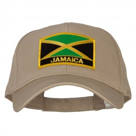 Jamaica Flag Patched New Big Size High Profile Cap