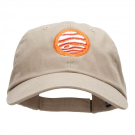 Jupiter Insignia Embroidered Unstructured Cotton Twill Cap