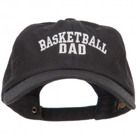 Basketball Dad Embroidered Unstructured Cotton Cap