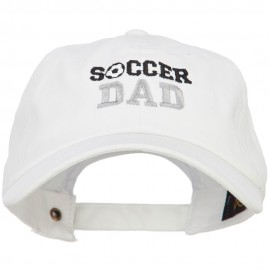 Dad of Girls Embroidered Unstructured Cotton Cap