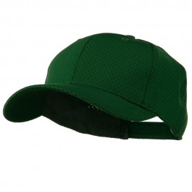 Athletic Jersey Mesh Cap - Dark Green
