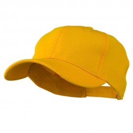 Athletic Jersey Mesh Cap - Gold