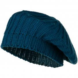 Acrylic Knitted Beret