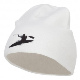 Kayak Sports Embroidered Short Beanie