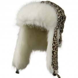 Kids Leopard Trapper Hat