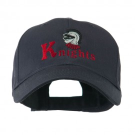 Knights Text and Mascot Embroidered Cap