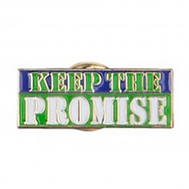 Keep the Promise Lapel Pin