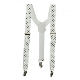 Kid's Polka Dot Suspenders