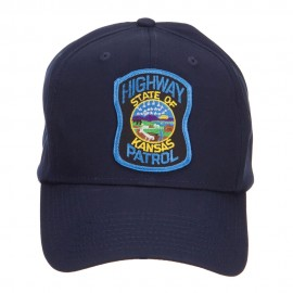 Kansas State Highway Patrol Patched Cap