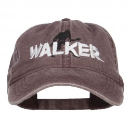 Halloween Walker Embroidered Washed Cap