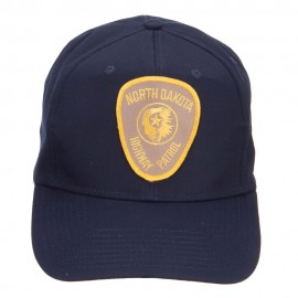 North Dakota Highway Patrol Patched Cap
