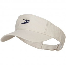 Sport Kayak Embroidered Cotton Washed Visor