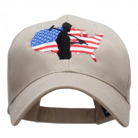 Labor Day Embroidered New Low Profile Organic Cotton Cap