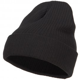 Big Size Cuff Long Beanie