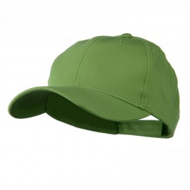 Cotton Twill Low Crown Cap - Apple Green