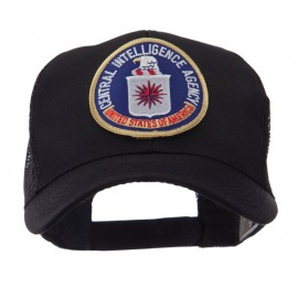 Law Enforcement Patched Mesh Cap