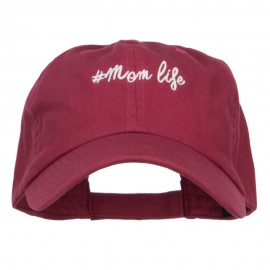 Mom Life Embroidered Low Cap