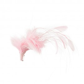 Ladies Genuine Feather Pin