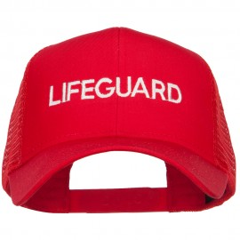 Lifeguard Embroidered Mesh Cap