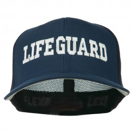 Life Guard Embroidered Flexfit Mesh Cap