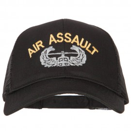 Air Assualt Embroidered Solid Cotton Mesh Pro Cap