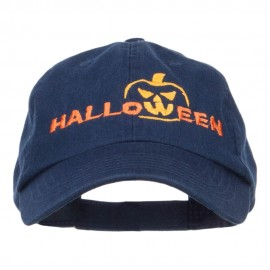 Halloween Pumpkin Embroidered Pet Spun Cap