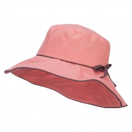 Ladies Linen Wide Brim Hat