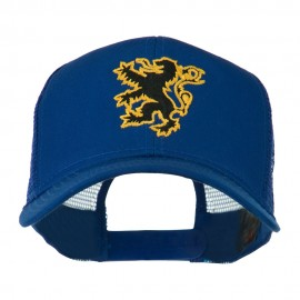 Lion Emblem Embroidered Cap