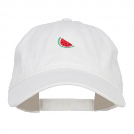 Mini Watermelon Embroidered Washed Cap