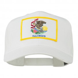 Eastern State Illinois Embroidered Patch Cap