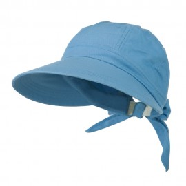 Ladies Sun Wide Visor Hat