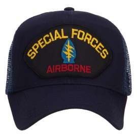 Special Forces Airborne Patched Mesh Cap